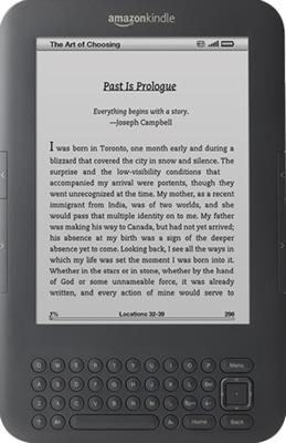 Amazon's Kindle 3