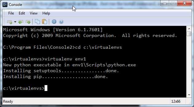 activate virtualenv python 3 windows