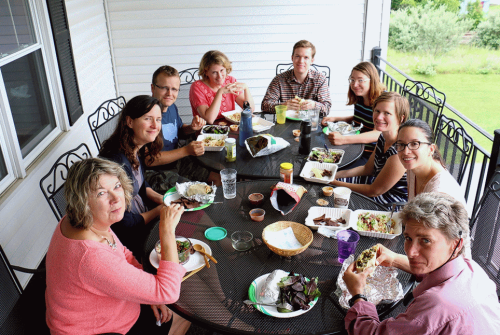 NPP Lunch, by ED and photographer Doug Hall